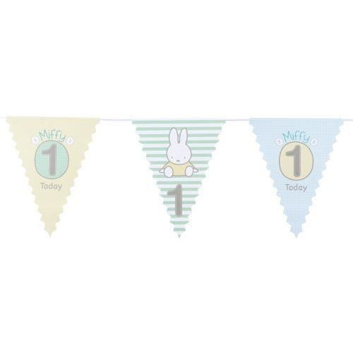 Miffy - 1st Birthday - Bunting
