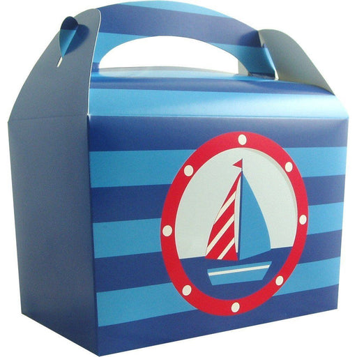 Ahoy There Lunch Box- end of line - no further stock. - END OF LINE (Clear Tubs - Stacked)