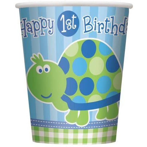 First Birthday Turtle Cups