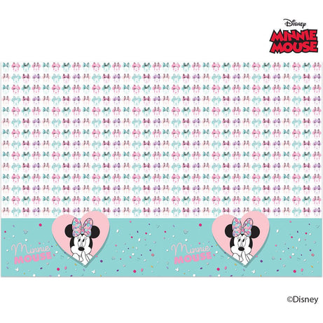 Disney Minnie Mouse Party Gem Tablecover 120x180cm