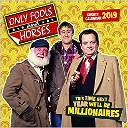 2019 Official Calendar Square Only Fools and Horses