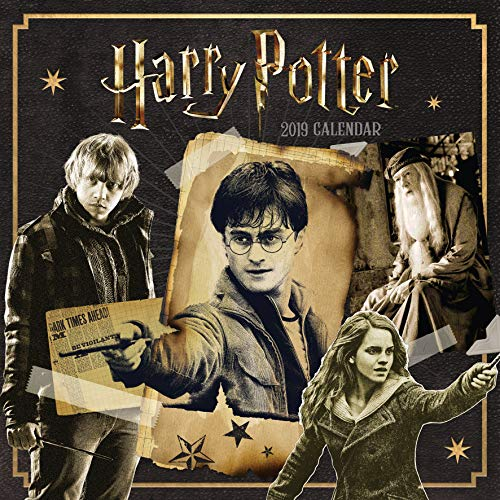 2019 Official Calendar Square Harry Potter