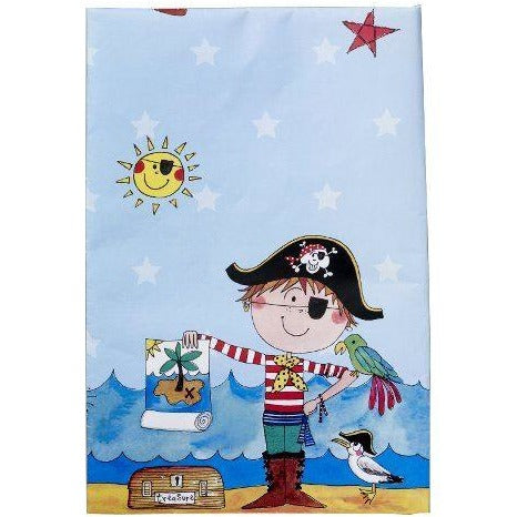 PARTY TABLE COVER 1CT,  RE-PIRATE TABLE COVER