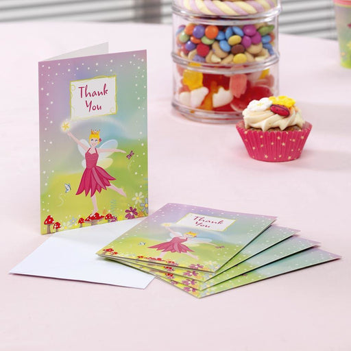 Fairy Princess Thank you cards- end of line-no further stock. (CLR:5)