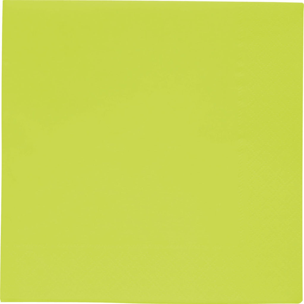 BBS GREEN NAPKINS 33x33 CM 2 PLY - END OF LINE