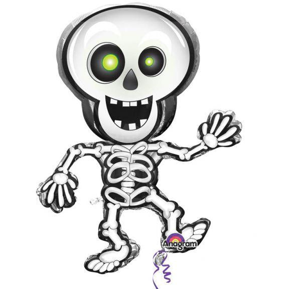Amscan Dancing Skeleton s/shape Halloween