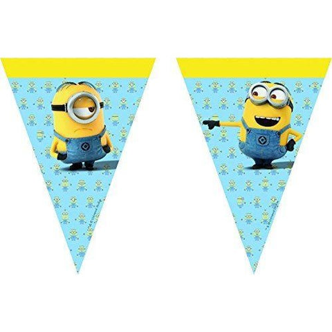 BANNER - TRIANGLE FLAG (9),  LOVELY MINIONS