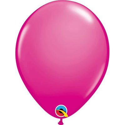 "Qualatex Wild Berry 11"" Latex Balloons 100 Pack"