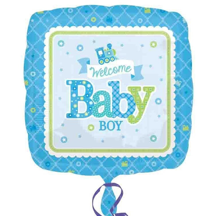 SD-SQ:Welcome Baby Boy Train