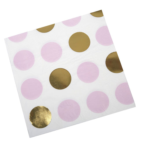 Pattern Works - Napkin Pink Dots - 16 pack