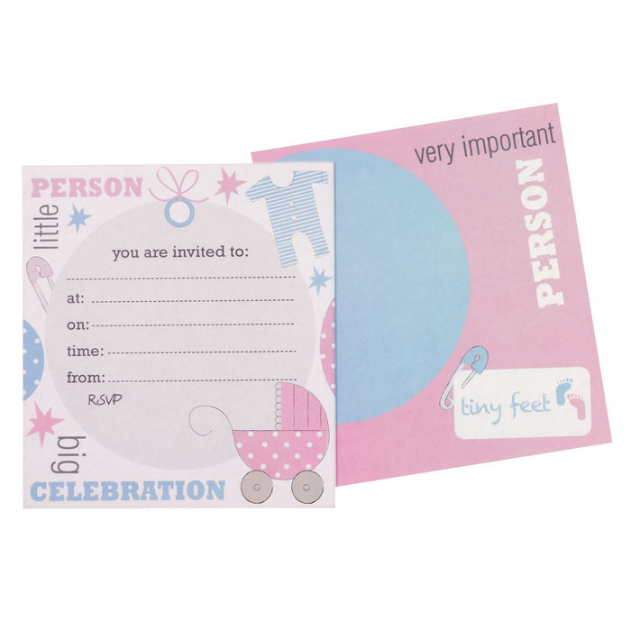 Tiny Feet Invitations