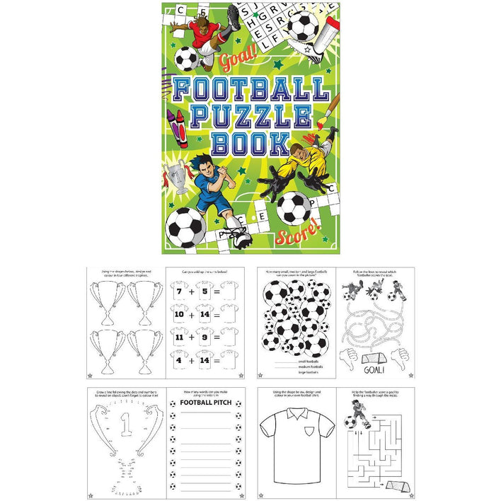 3 Football Puzzle Book (Henbrandt)