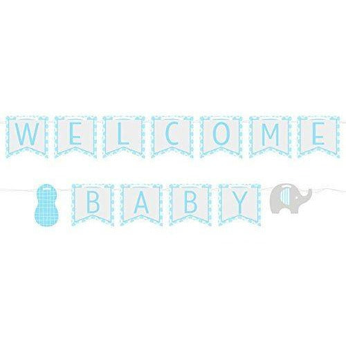 Little Peanut Boy Ribbon Banner - end of line