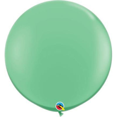 3FT  RND  WINTERGREEN     02CTQUALATEX PLAIN LATEX