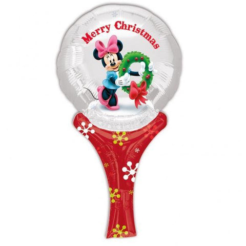 12'' Minnie Xmas Inflate A Fun Balloon - House Of Party
