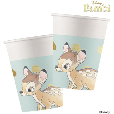 Disney Bambi Cutie Cups 200ml 8ct