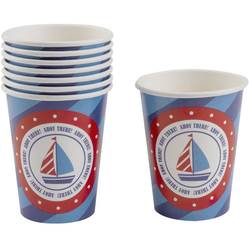 Ahoy There Cups- end of line - no further stock - END OF LINE April 2018 (Clear Tubs - Stacked)
