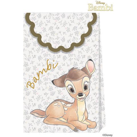Disney Bambi Cutie Paper Party Bags 6ct