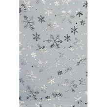 White & Silver Snowflake Table Runner Davies Christmas