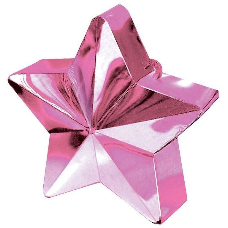 Amscan BALLOON WEIGHT star:pink