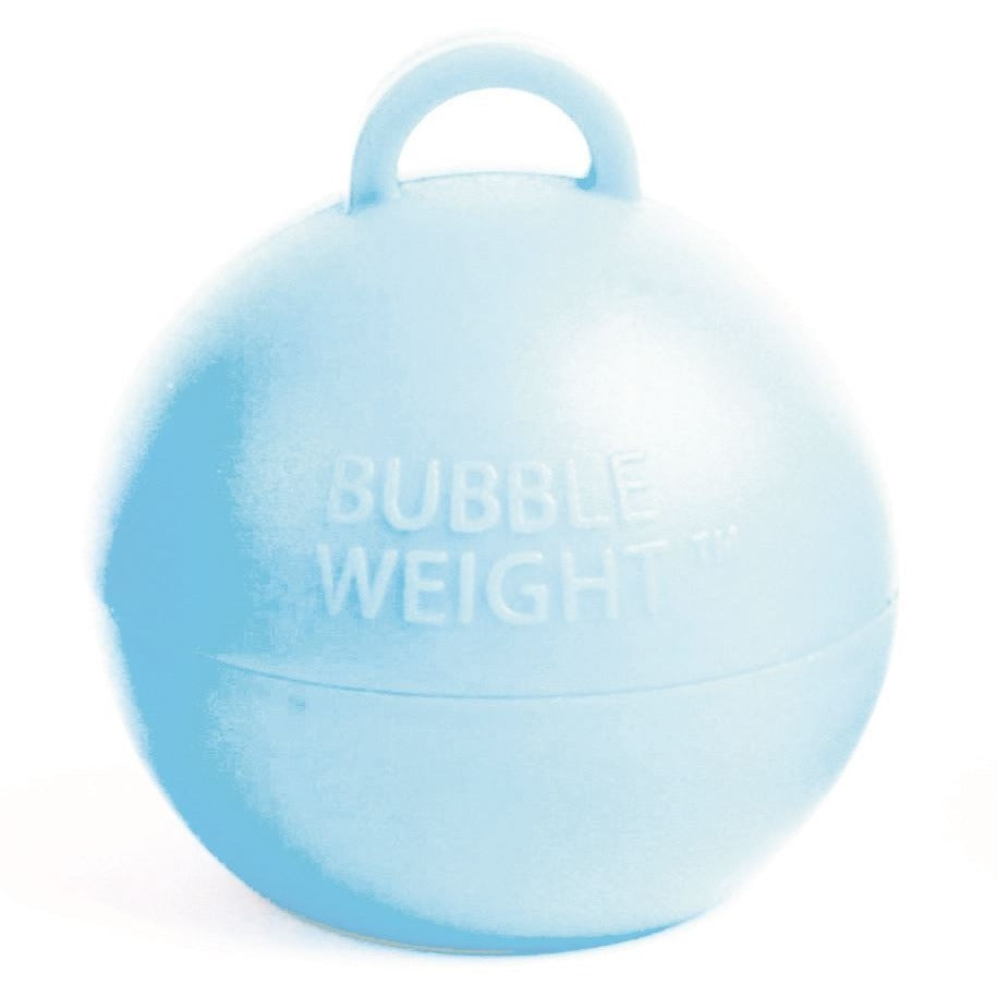Bubble Balloon Weight Baby Blue