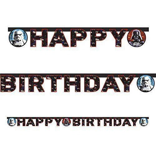BANNER 1CT - HAPPY BIRTHDAY STAR WARS