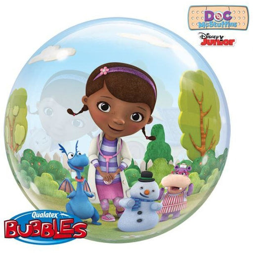 "22""  SINGLE BUBBLE        01CT,  DN DOC MCSTUFFINS"