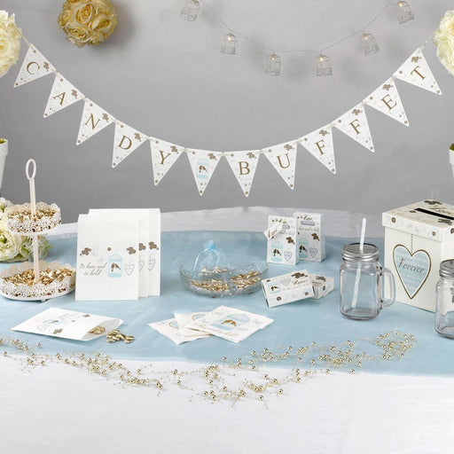TO HAVE AND TO HOLD - CANDY BUFFET BUNTING