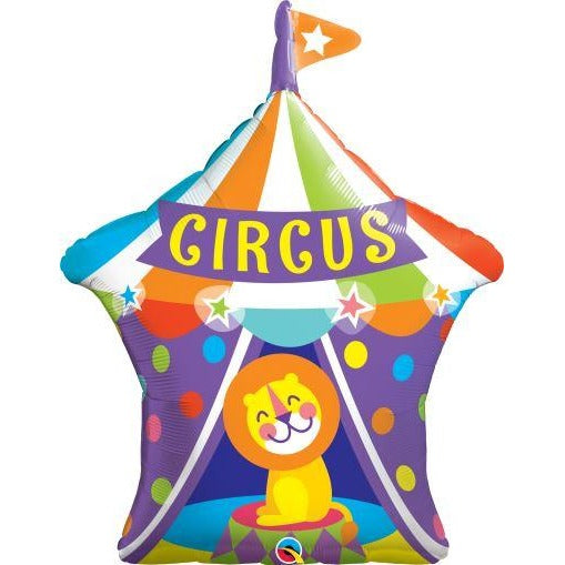"36""  SHAPE                01CT BIG TOP CIRCUS LION"