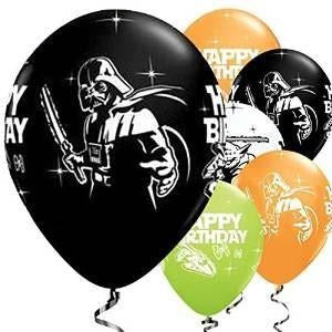 Qualatex Star Wars Happy Birthday Balloons x 5