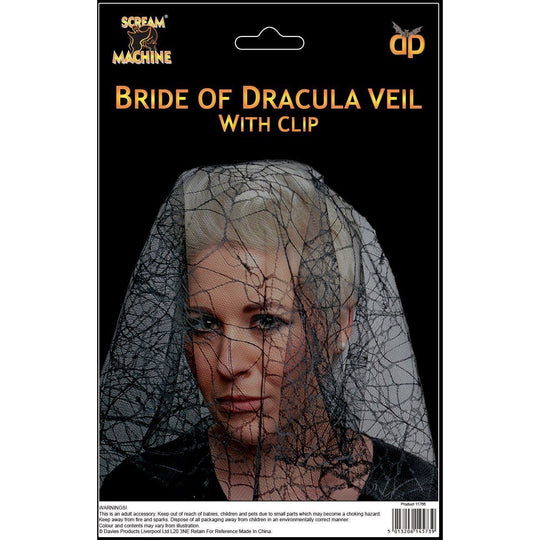 Halloween Bride Of Dracula Veil