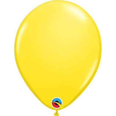 "11""  RND  YELLOW         100CT QUALATEX PLAIN LATEX"