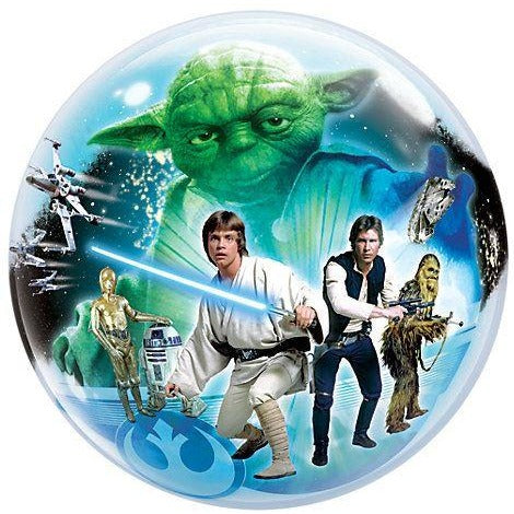 "22""  SINGLE BUBBLE        01CT,  STAR WARS"