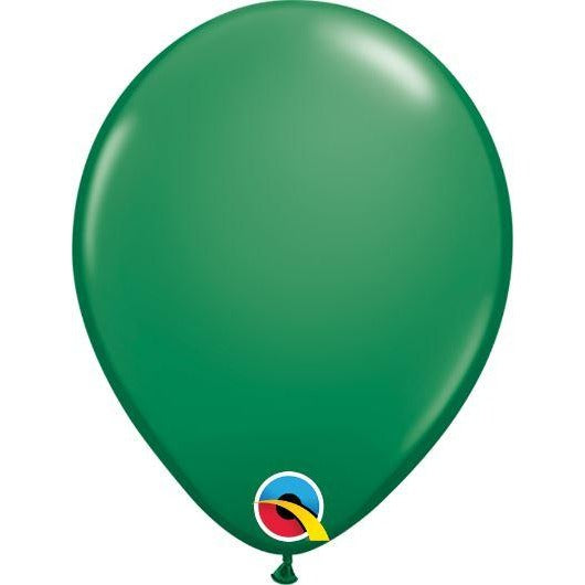"09""  RND  GREEN          100CT QUALATEX PLAIN LATEX"