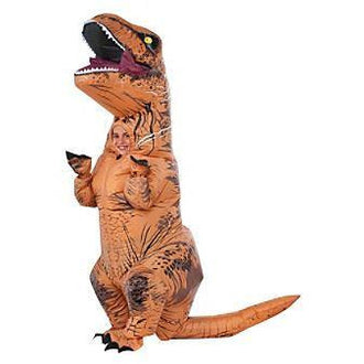 INFLATABLE TYRANNOSAURUS REX CHILD COSTUME