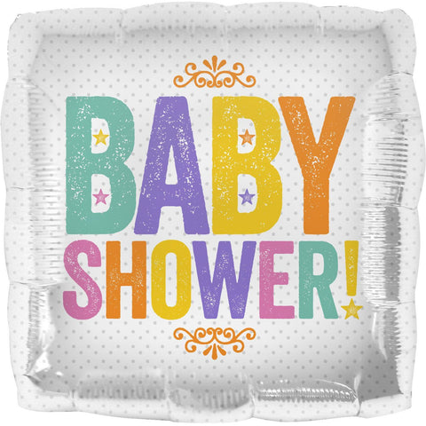 Baby Shower Block Letters-North Star