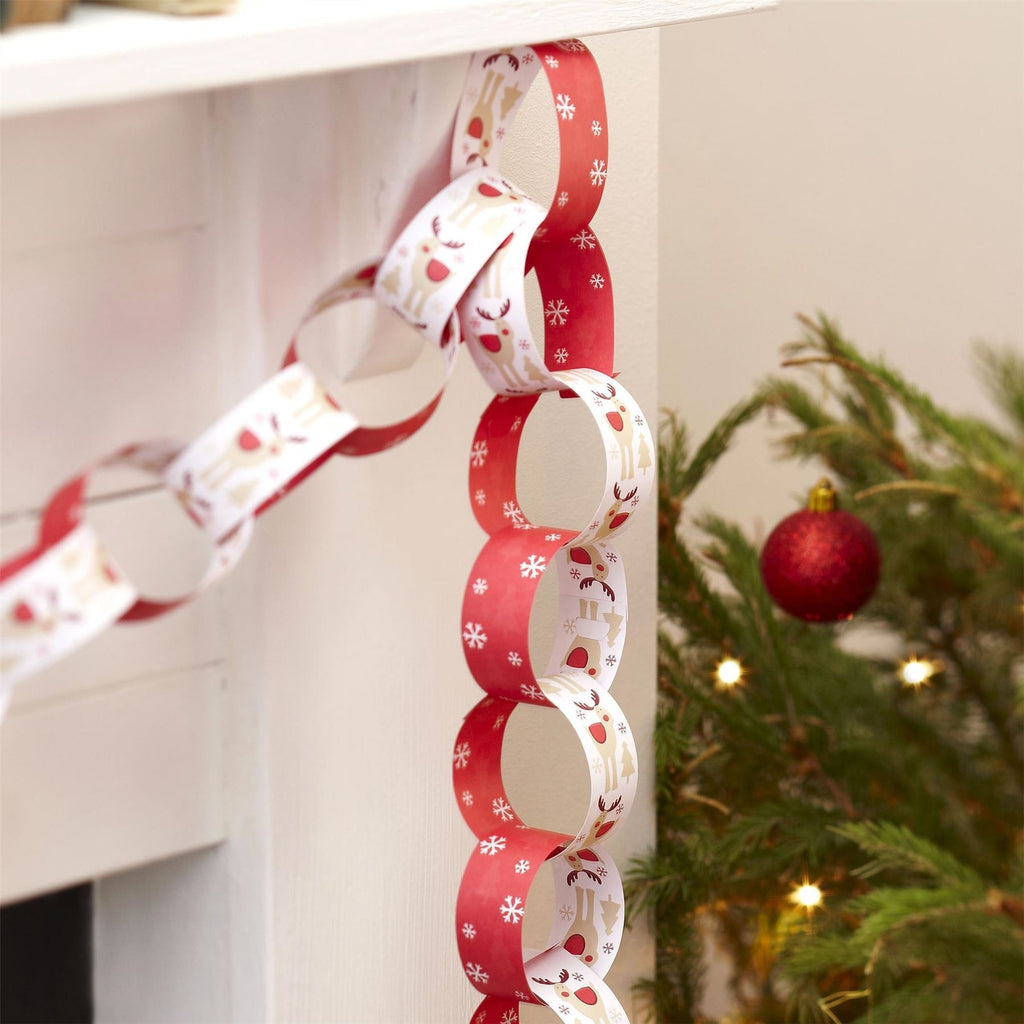 Rocking Rudolf - Paper Chains