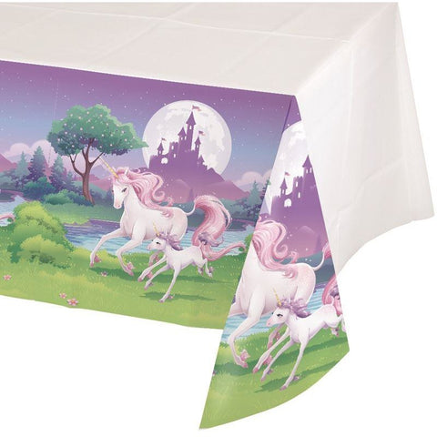 Unicorn Fantasy plastic tablecovers
