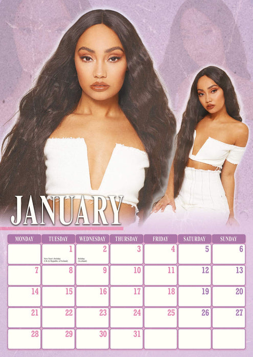 2019 Official Calendar A3 Little Mix