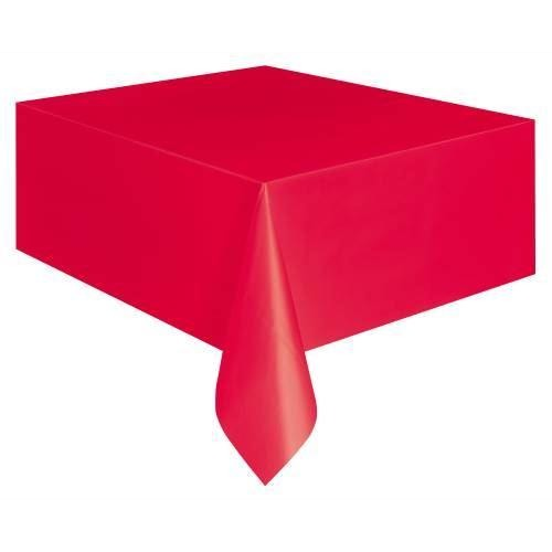 Red Basic Tablecover 54X108 In Unpackaged