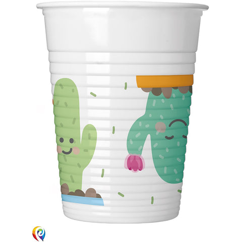 Cactus Party Plastic Cups
