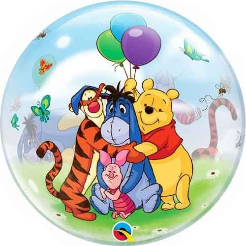 "22""  SINGLE BUBBLE        01CT,  WINNIE THE POOH & FRIENDS"