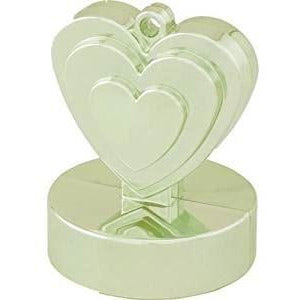 HEART WEIGHTS WEIGHTS x1 (SINGLE) CHAMPAGNE IVORY
