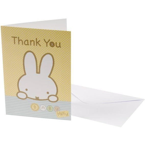 Baby Miffy - Thank You Cards - 10