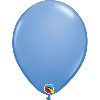 "11""  RND  PERIWINKLE     100CT QUALATEX PLAIN LATEX"