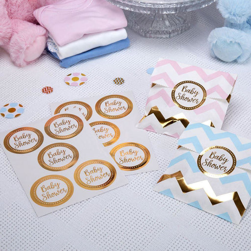 Pattern Works - Sticker Baby Shower - 25 pack