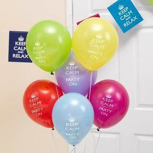 Keep Calm and Party On Balloons