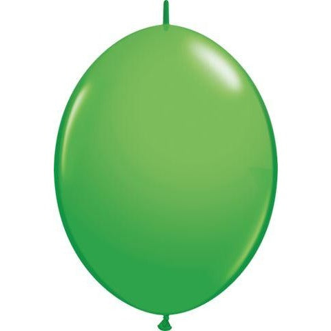 "12"" QLINK SPRING GREEN    50CT QUALATEX QUICK LINK BALLOONS"