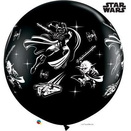 3FT  RND  ONYX BLACK      02CT STAR WARS: DARTH VADER & YODA