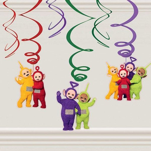 Teletubbies Swirl Decorations